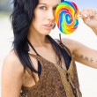 Candy Allurer — Stock Photo
