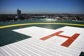 Hospital Helipad — Stock Photo