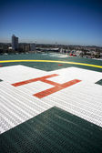 Building Top Helipad — Stock Photo
