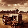 Tractor From Yesteryear — Stock Photo