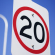 20Km Road Sign — Stock Photo #10608899