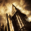 Stock Photo: A Gothic Construction