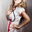 Evil Nurse - Stock Photo