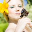 Glamour In Nature - Stock Photo