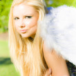 Blonde Angel — Stock Photo