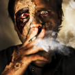 Stockfoto: Zombie Killing Some Time