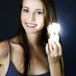 Stock Photo: Lighting The Way To Innovation