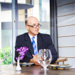 Senior Business Executive Attending Function — Stock Photo #9704936