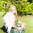 Beautiful Celestial Angel — Stock Photo
