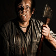 Stock Photo: Axe Murderer