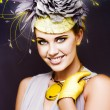 Spring Carnival Beauty - Foto Stock