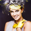 Stockfoto: Spring Carnival Beauty