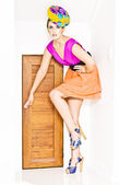 Door To Fashion Stardom — Stock Photo