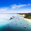 Tangalooma Wrecks Landscape, Queensland, Australia — Stock Photo #9765421