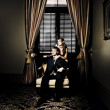 Wealthy Young Couple — Stockfoto