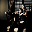 Foto de Stock  : Filthy Rich Man And Woman