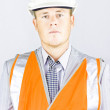 Workplace Health And Safety Officer - Stock Photo