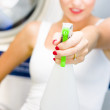 House Cleaning Holdup — Stock Photo