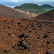 Stockfoto: In center of volcano