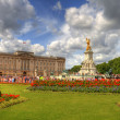Buckingham palace, london, uk — Stock Photo #7964565