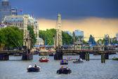 在阿姆斯特丹运河 — 图库照片