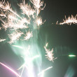 Abstract style of firework background - Foto Stock