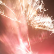 Abstract style of firework background - Stock Photo