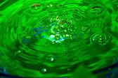 绿水背景 — 图库照片