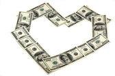 Money dollars — Stock Photo