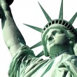 staty av liberty isoalted på vit — Stockfoto #10067420