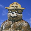 Stock Photo: Smokey Bear Fire Prevention Sign