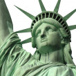 Statue of Liberty Close Up Isolated — Stock Photo #10163702