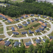 Suburban Culdesac Aerial — Stock Photo #10288606