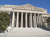 National Archives Building Washington DC — Stock Photo