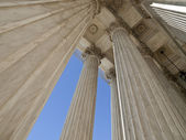 United States Supreme Court Building Columns — Stock Photo