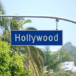 Hollywood Blvd Sign — Stock Photo #7965405