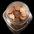 Foto de Stock  : New ClePenny Jar