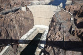 Hoover Dam Bridge View — Stock Photo