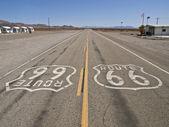 Route 66 mojave çölü — Stok fotoğraf