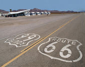 Route 66 Mojave Desert — Stock Photo