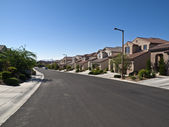 Desert Suburbia — Stock Photo