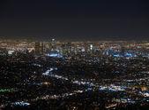 LA at Night — Stock Photo