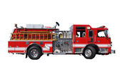 Ladder Fire Truck — Stock Photo