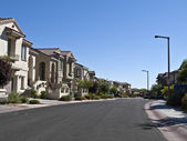 Affluent Desert Suburbia — Stock Photo