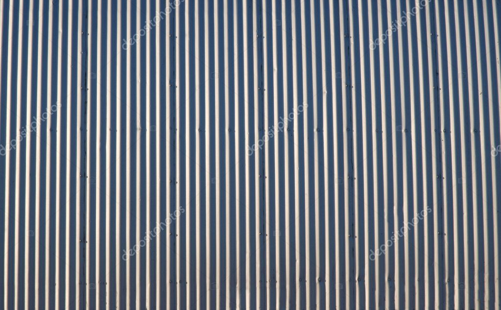 Old corrugated steel wall in the agricultural heartland.  Photo #7965696