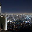 Above Los Angeles — Foto Stock