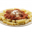 Stock Photo: Rigatoni with Mini Meatballs