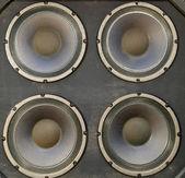 Big Bass Speaker Cabinet — Stock Photo