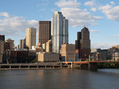 Downtown Pittsburgh — Foto Stock