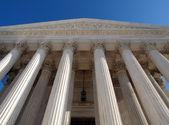 Pilastri della corte suprema — Foto Stock